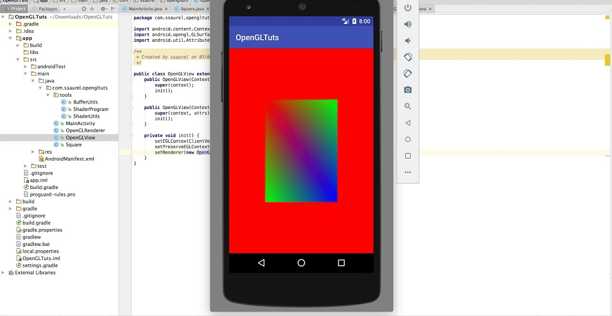 Android OpenGL