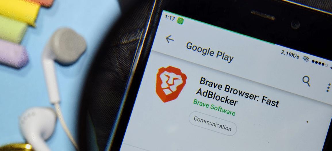 Brave sur Android