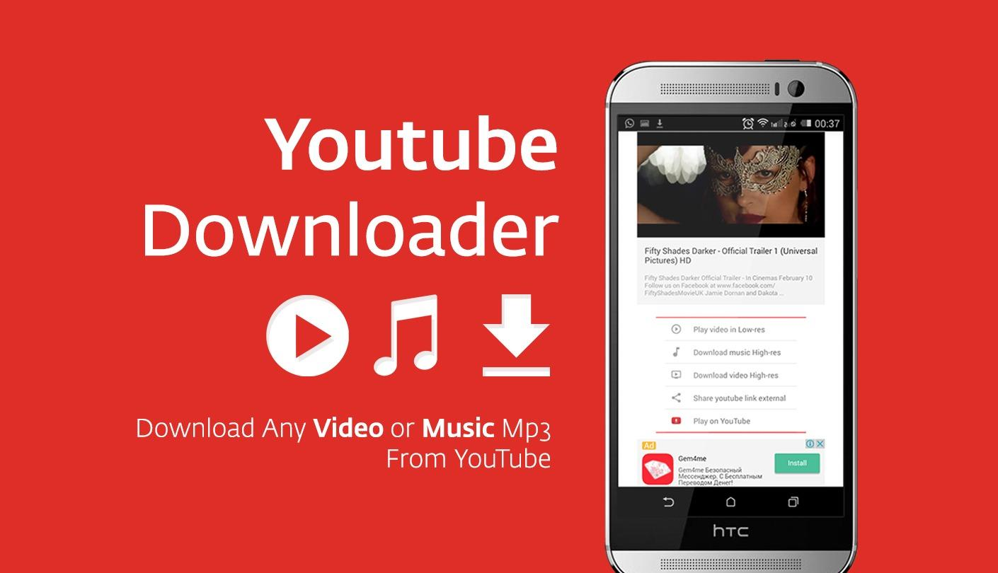 YouTube en MP3 sous Android