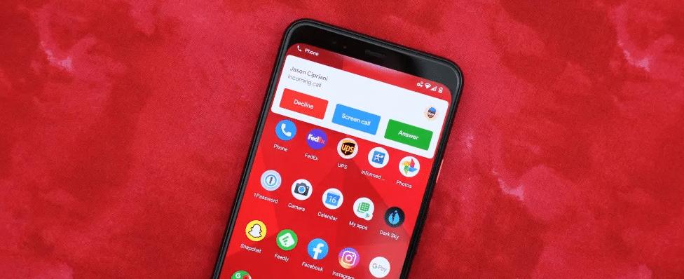 appel sur Android